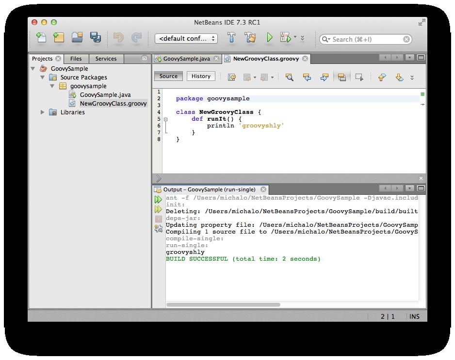 NetBeans7.3RC1